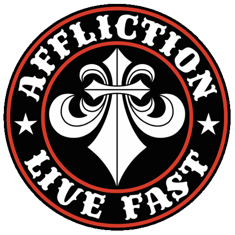 logo de la marque premium Affliction Clothing rock metal kustom culture tattoo